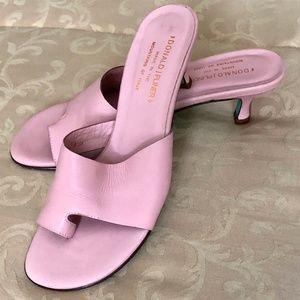 Donald J. Pliner Shoes - Donald J Pliner Sexy Pink Nappa leather heels sz 8